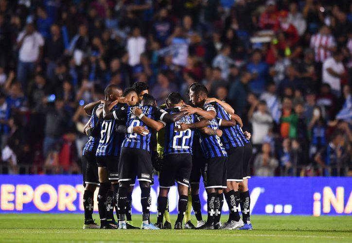 El Querétaro se volvió protagonista en el último torneo llegando a estar de líderes. (mexsport)
