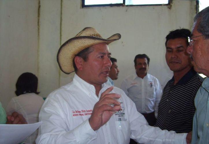 El ex presidente municipal de Siltepec, Bellaner Pérez Anzueto. (elfronterizosur.com)