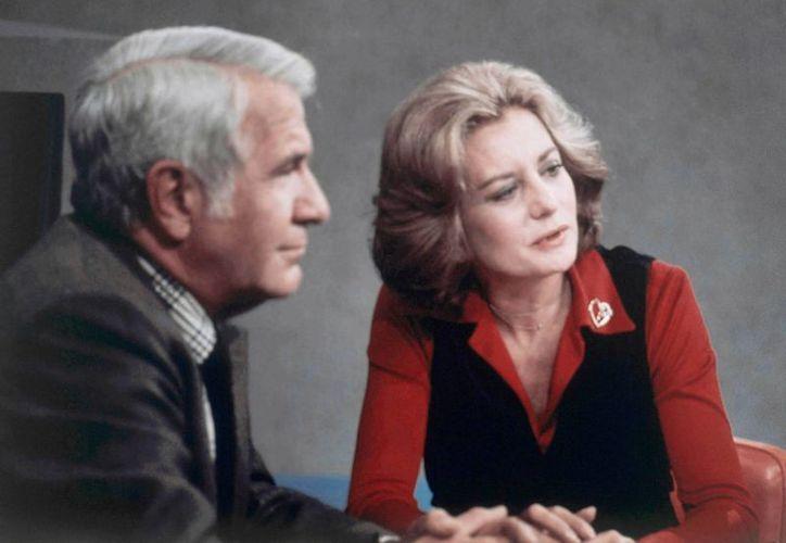 Walters, quien debutó en 1961 como reportera del programa 'Today', llegó a ser una de las más famosas entrevistadoras del medio artístico. (Agencias)