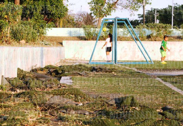Durante varias administraciones municipales no se han hecho las reparaciones prometidas. (Octavio Martínez/SIPSE)