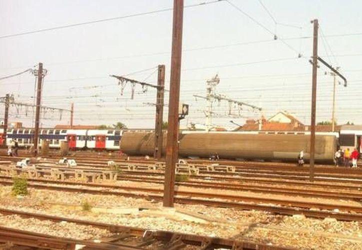 El tren interurbano se estrelló contra la estación de Bretigny-sur-Orge. (instagram.com)