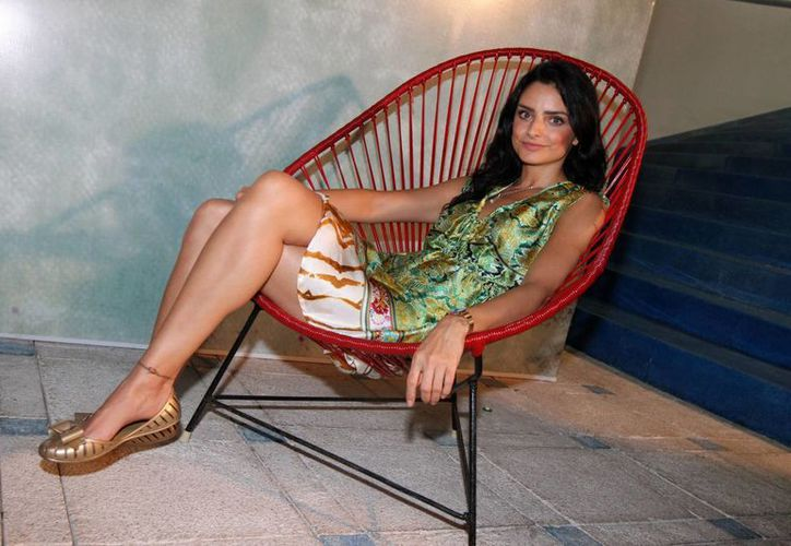 Aislinn Derbez posó topless para la revista Esquire México. (Foto de archivo de Notimex)