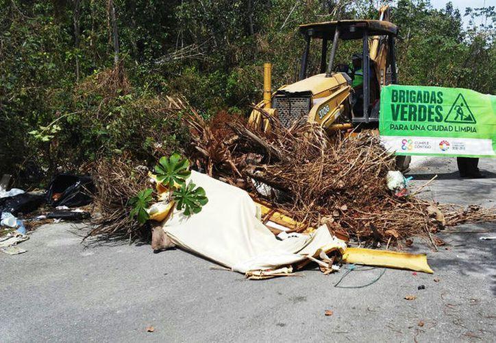 Personal de Servicios Públicos retiró la basura. (Cortesía)