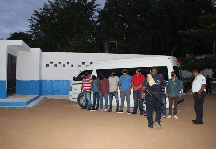 La detención se realizó a la entrada a la ciudad. (Sara Cauich/ SIPSE)