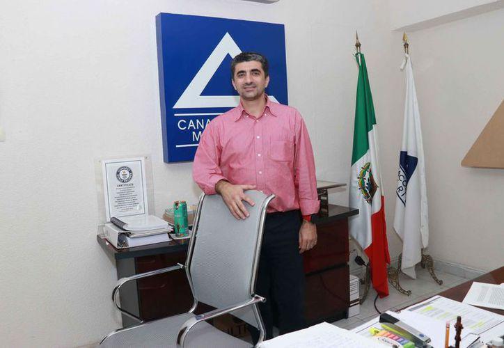 Presidente de la Canacome Michel Salum Francis. (Foto: Jorge Acosta)
