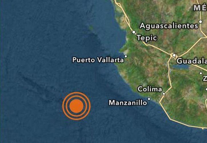 Por su parte, el Servicio Geológico de Estados Unidos informó que el sismo tuvo una magnitud de 6.6 con epicentro en el mar, a unos 215 kilómetros al suroeste de la ciudad de Tomatlán, Jalisco. (@SkyAlertMx)