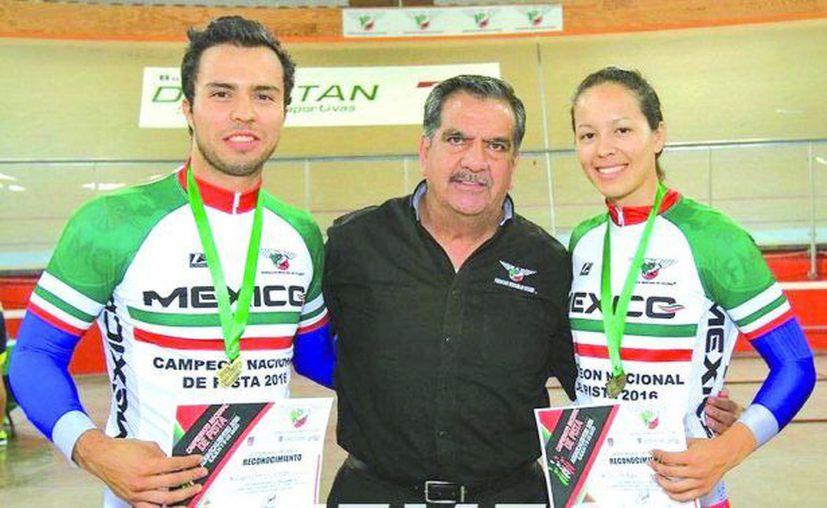 Los hermanos Verdugo Osuna encabezan el equipo mexicano de ciclismo. (El Sudcaliforniano)