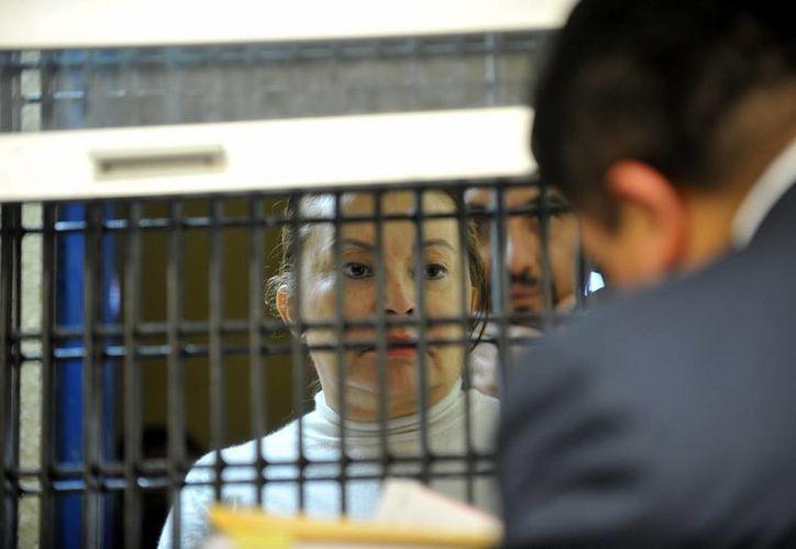 La imagen de la ficha de Elba Esther fue difundida el 28 de febrero pasado. (Archivo/Notimex)