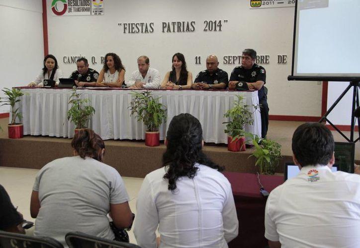 Dieron a conocer las actividades que se desarrollarán los días 15 y 16. (Tomás Álvarez/SIPSE)