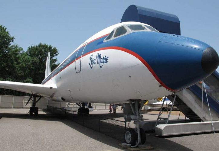 El 'Lisa Marie' (que en los años 80 utilizó la banda Queen) era el avión que usaba Elvis Preley para sus giras. (AP)