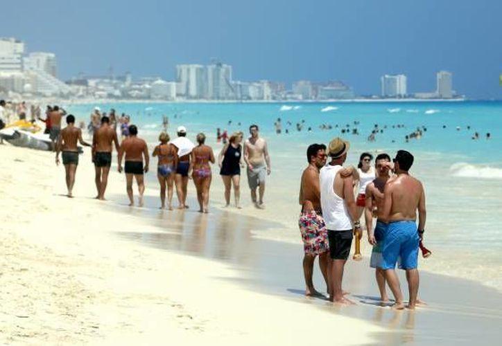 Con la apertura de la ruta Milán- Cancún se espera la llegada de mayor número de turistas. (Sipse)