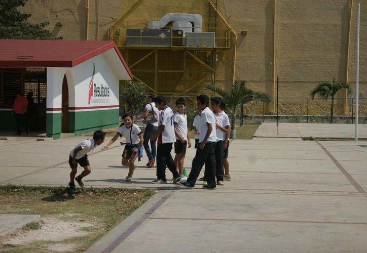 La mayoría de las escuelas están en Benito Juárez y Othón P. Blanco. (Harold Alcocer/SIPSE)
