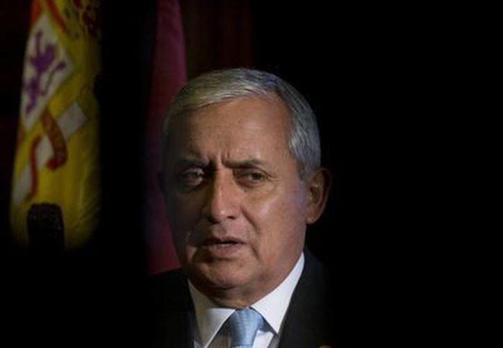 Pérez Molina dijo que la propuesta fue parte de un informe de la Fundación Beckley. (Agencias)
