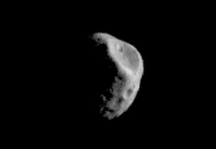 La sonda filmó a Deimos y Fobos el pasado 15 de febrero. (NASA)