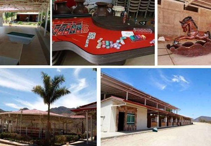 En el rancho hay un casino, un palenque y un rodeo con capacidad para mil personas. (Milenio)