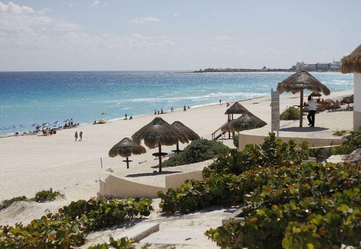 El organismo rector estudia la calidad del agua, de la arena y realiza diversas inspecciones en la playa. (Israel Leal/SIPSE)