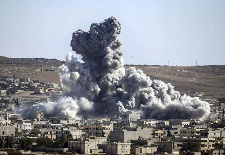 Rusia negó haber bombardeado la localidad de Al Shafa en Siria. (Contexto/Proceso).