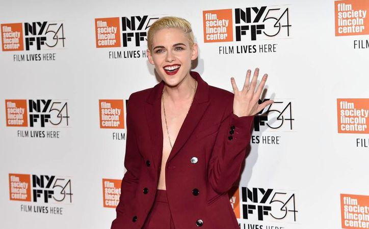 Kristen Stewart participa este año en el Festival de Cine de Nueva York. (AP/ Evan Agostini)