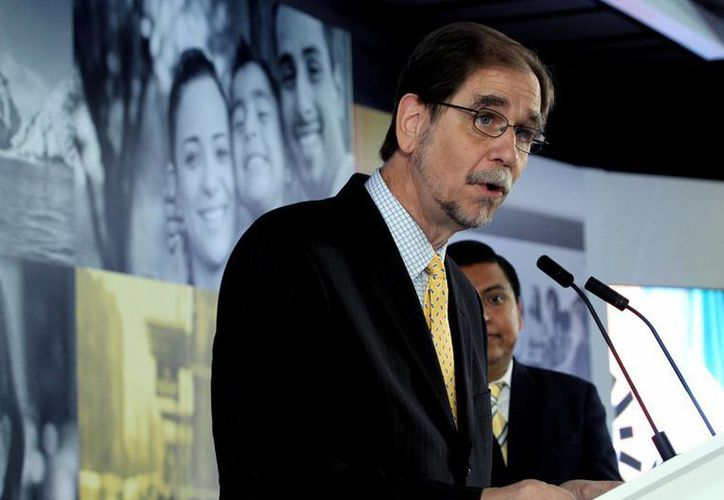 El presidente nacional del PRD, Agustín Basave, renunció a su cargo. (Notimex)