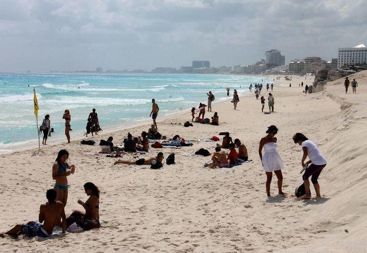Esperan que durante el presente año se superen los estándares de crecimiento en el sector turístico. (Archivo/Notimex)