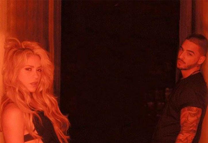 La canción de Shakira y Maluma ya se encuentra disponible en las diferentes plataformas de streaming.(Captura de pantalla/Video Shakira)