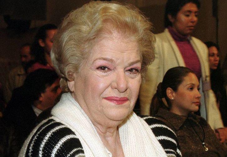 Carmen Montejo fue parte de la Época de Oro del Cine Mexicano. (Archivo/Notimex)