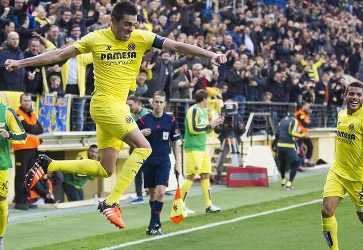 El equipo de Jonathan dos Santos termina el año en la cuarta posición de la Liga BBVA con 33 puntos, cinco menos que el líder Barcelona. (Sitio oficial Villarreal CF)