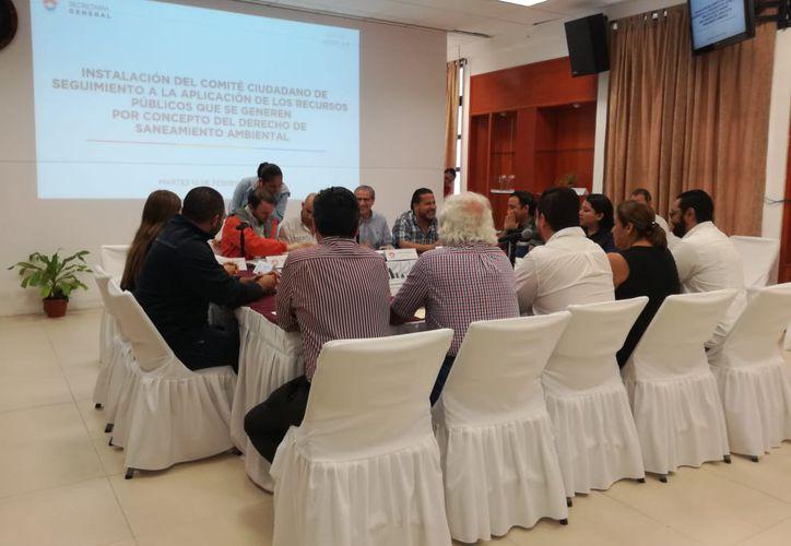 Quedó conformado el comité que vigilará los recursos del Derecho de Saneamiento ambiental. (Karim Moisés/SIPSE)