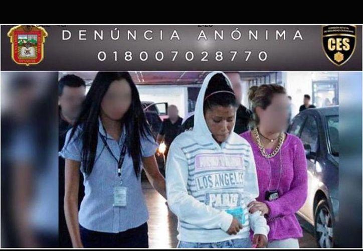 La Pgjem pide a la ciudadanía que si fue víctima de alguna agresión por parte de la detenida realice su denuncia. (excelsior.com.mx)