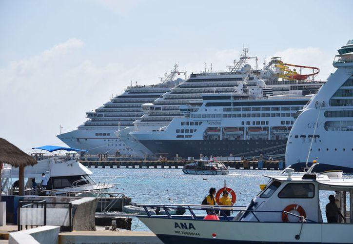 El año pasado, Cozumel recibió 4 millones 103 mil 787 de turistas. (Gustavo Villegas/SIPSE)