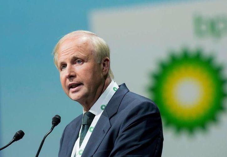 Bob Dudley, director general de British Petroleum, indicó que el pago de la indemnización a cuatro estados de EU por un derrame ocurrido en 2010 será a lo largo de muchos años. (AP)