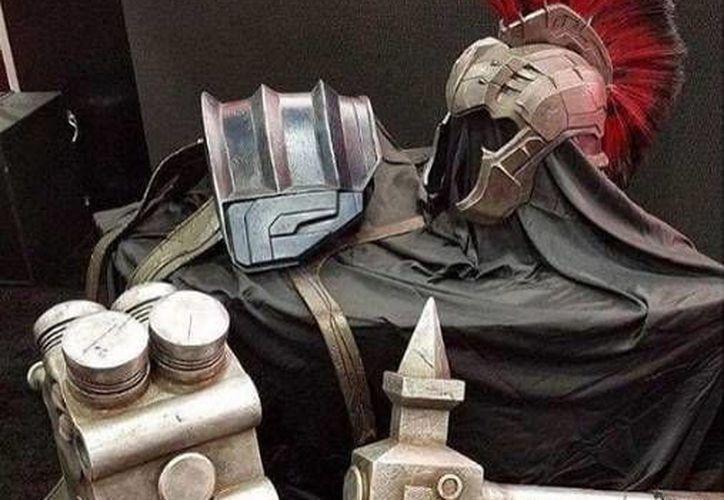 Hulk usará armadura en varios planetas dentro de la película 'Thor 3: Ragnarok'. (Fotos: Instagram)