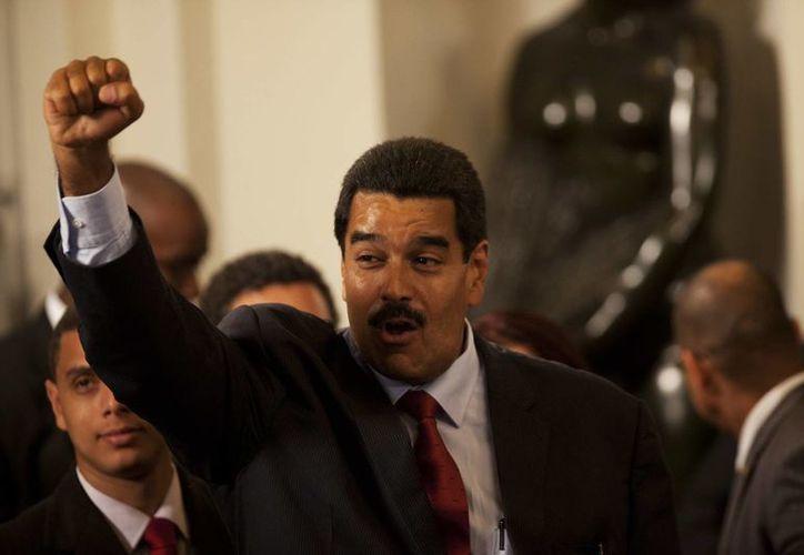 Maduro juró cumplir con la Constitución venezolana. (Agencias)