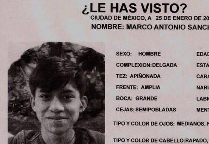 Familiares y amigos del desaparecido quieren respuesta sobre el paradero del muchacho. (Foto: Animal Político).