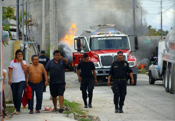 Dos personas fallecieron por quemaduras causadas por explosión. (SIPSE)