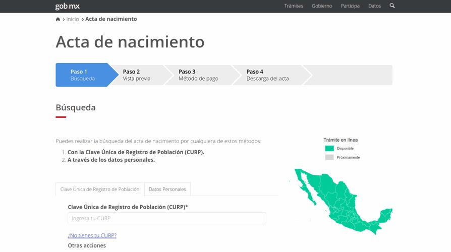 Cómo conseguir en internet mi acta de nacimiento de Yucatán ...