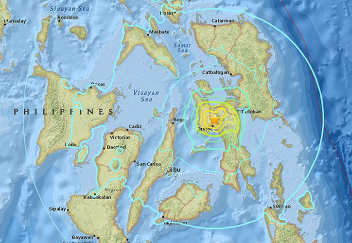 """Filipinas se asienta sobre el llamado """"Anillo de Fuego del Pacifico"""", un área de gran actividad sísmica. (RT)"""