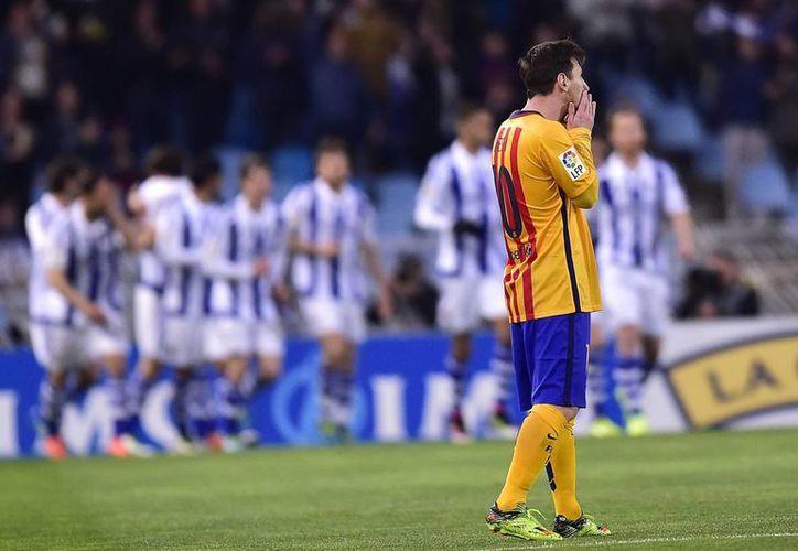 Messi y compañía han entrado en un difícil bache y esta semana es crucial para sus aspiraciones en la Champions League y por supuesto, en la liga. (Imágenes de AP)