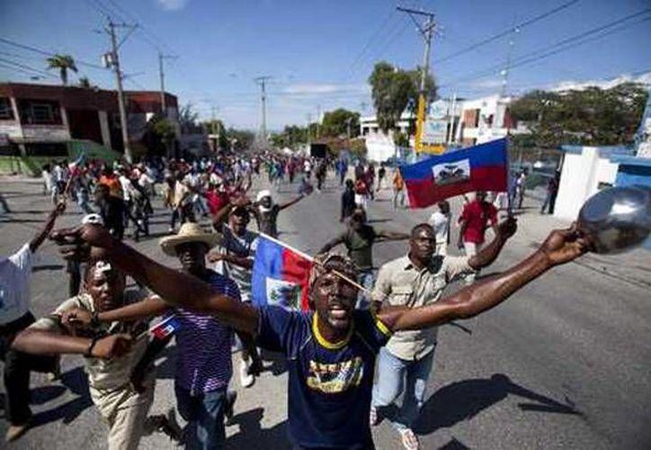 Las protestas se han incrementado en los últimos meses en Haití. (Archivo/AP)