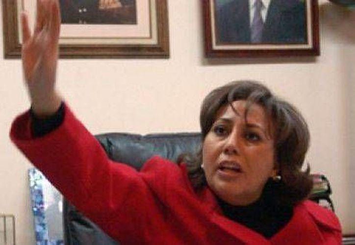 La destitución de Rosario Castro se dio en asamblea extraordinaria del PAN en Durango y luego de turnarse a la Comisión de Orden del Comité Ejecutivo Nacional. (Milenio)