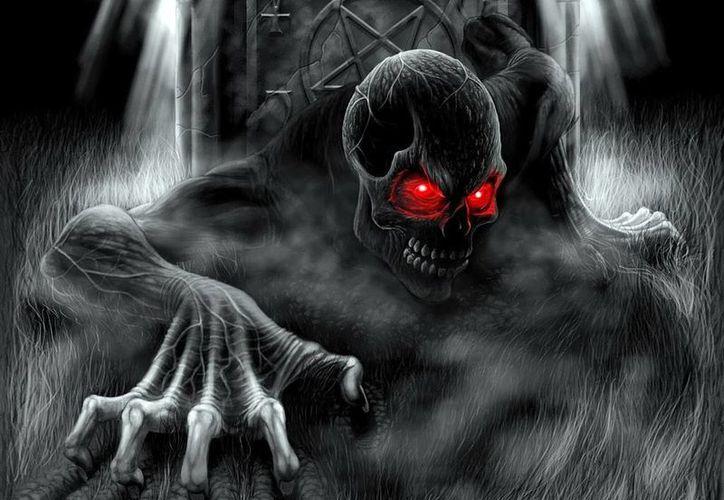 Los demonios andan sueltos en algunas casas, reza porque una de esas no sea la tuya. (Jorge Moreno/SIPSE)