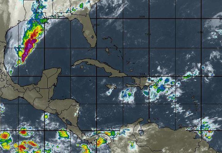 Continúa entrando aire marítimo tropical con poca humedad proveniente del Golfo. (Redacción/SIPSE)