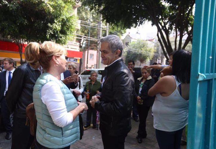 La candidatura de Mancera para las elecciones presidenciales de 2018 ya ha sido 'anunciada' varias veces por los líderes de la izquierda. (Facebook/Miguel Ángel Mancera)