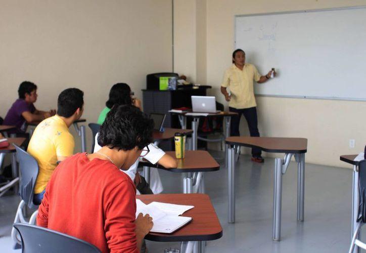 Capacitan a los estudiantes que realizarán su servicio social. (Jorge Carrillo/SIPSE)