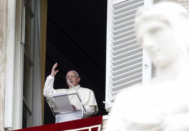 El pontífice llamó a todos los cristianos 'a anunciar que Dios es amor'. (AP)