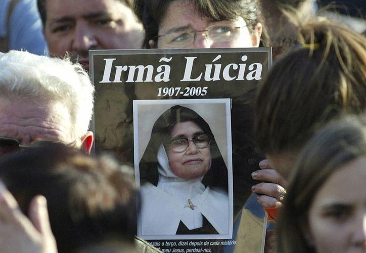 La hermana Lucía podría ser beatificada si la Iglesia de Portugal logra que el Vaticano tome el caso. (AP/Paulo Duarte)