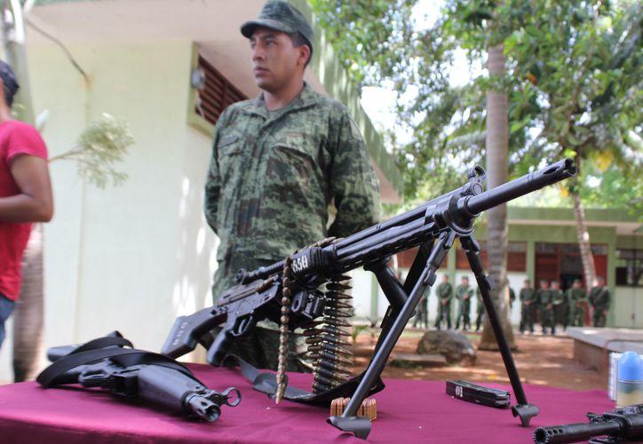 """Autoridades implementarán la campaña """"Promoción de la Paz"""", para disminuir el uso de armas. (Joel Zamora/SIPSE)"""