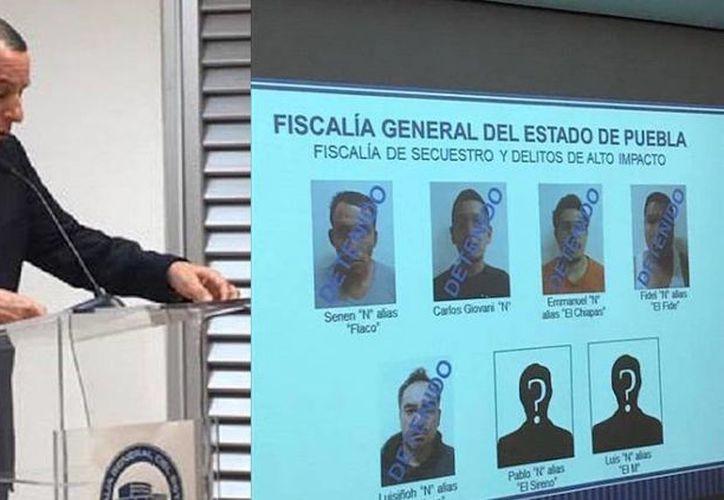 Cinco sujetos fueron detenidos por estar involucrados con el robo, abuso y homicidio contra una familia en la carretera México - Puebla. (Foto: Periódico Central)