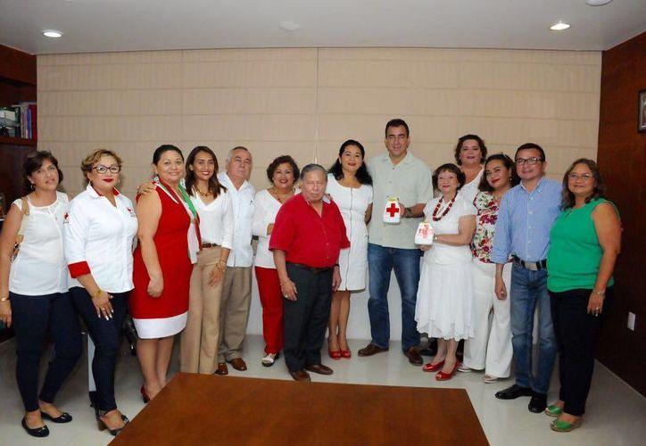 La Cruz Roja Mexicana, es una acción solidaria con la sociedad. (Redacción/ Cortesía)