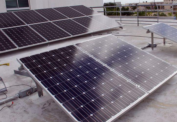 Los paneles solares de Telmex son elaborados por la empresa Condumex. (Foto: Milenio Novedades)